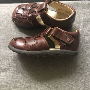 Brown Stride Rite Sandals
